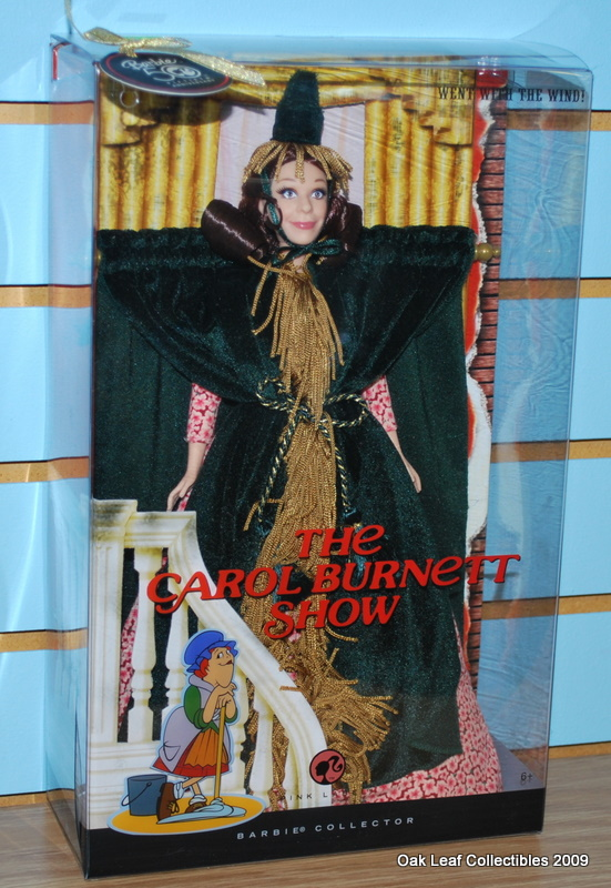 Carol Burnett Barbie Went With The Wind Doll New Nrfb On Popscreen