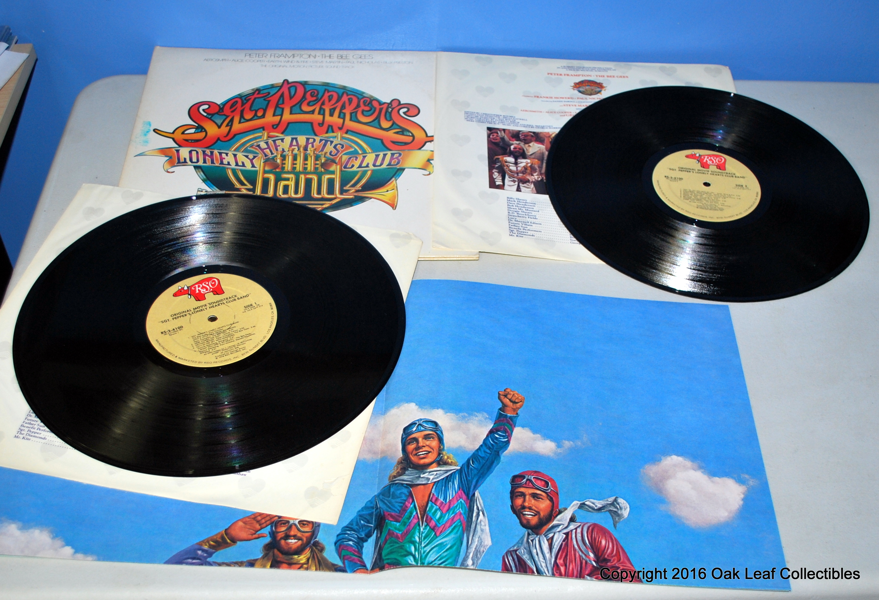 Bee Gees Sgt Pepper S Lonely Hearts Club Band 2 Lp 1978