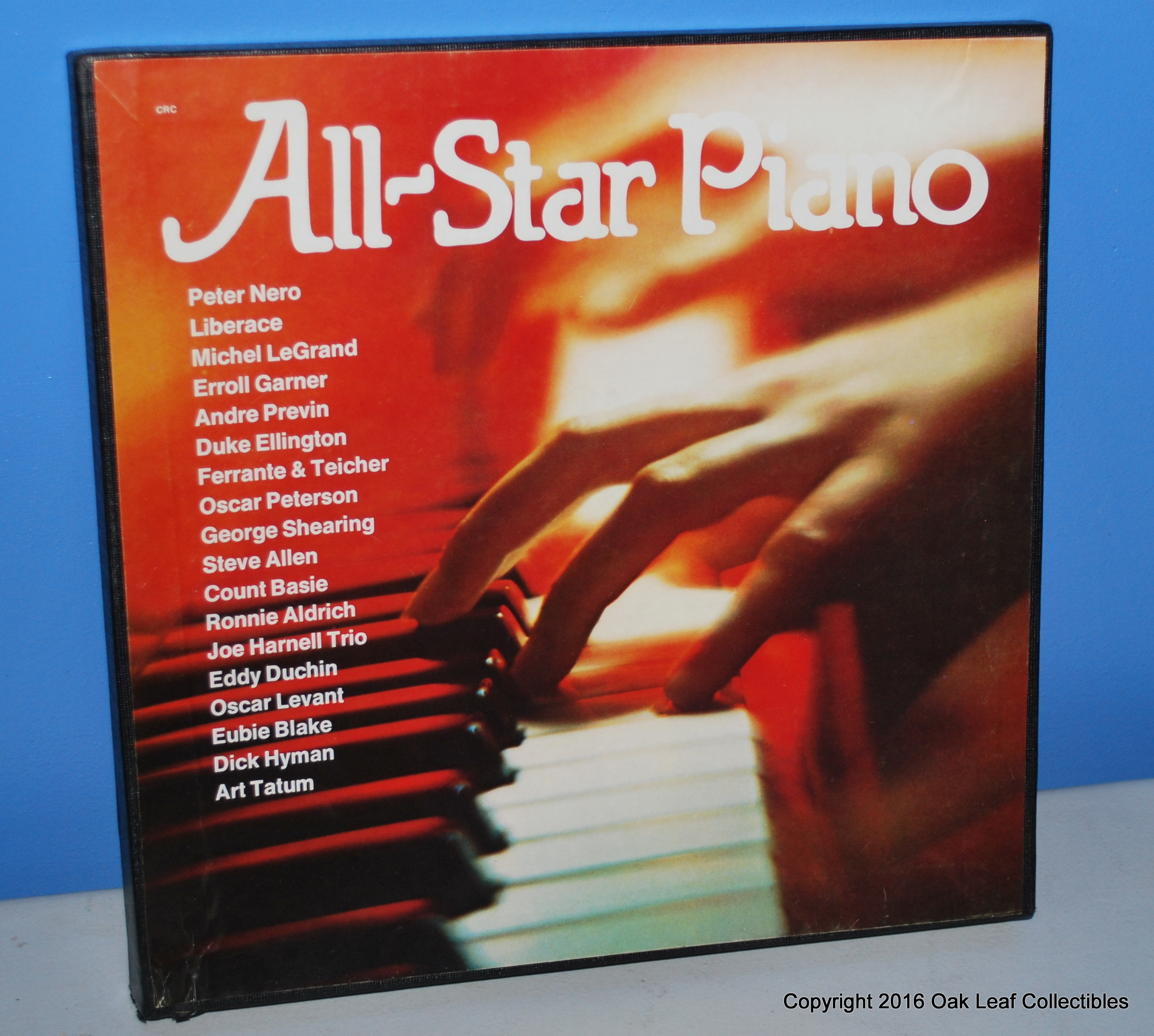 All Star Piano Columbia House 6 Lp Record Collection Set